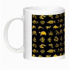 Fish pattern Night Luminous Mugs