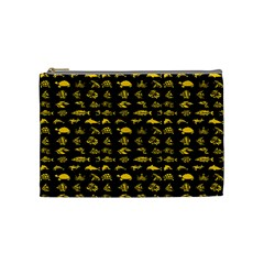 Fish pattern Cosmetic Bag (Medium)