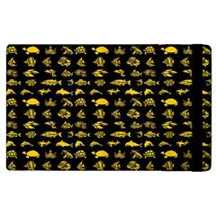 Fish pattern Apple iPad 2 Flip Case
