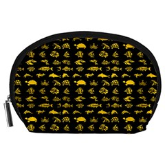 Fish pattern Accessory Pouches (Large)