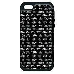 Fish pattern Apple iPhone 5 Hardshell Case (PC+Silicone)