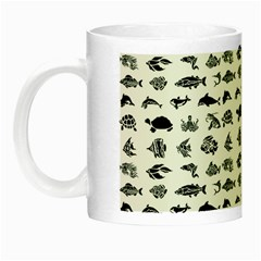 Fish pattern Night Luminous Mugs