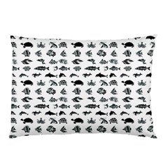 Fish pattern Pillow Case (Two Sides)