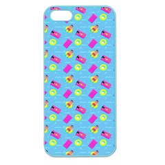 Summer pattern Apple Seamless iPhone 5 Case (Color)