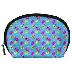 Summer pattern Accessory Pouches (Large)
