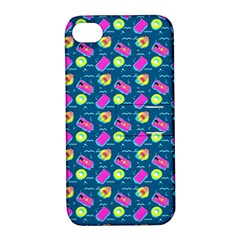 Summer pattern Apple iPhone 4/4S Hardshell Case with Stand