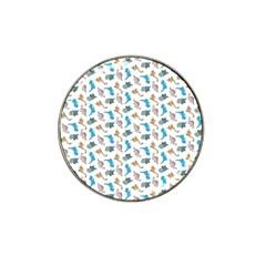 Dinosaurs pattern Hat Clip Ball Marker