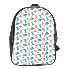 Dinosaurs pattern School Bags(Large)