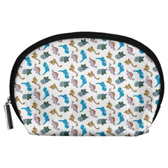 Dinosaurs pattern Accessory Pouches (Large)