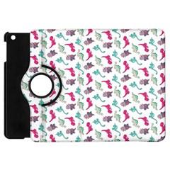 Dinosaurs pattern Apple iPad Mini Flip 360 Case