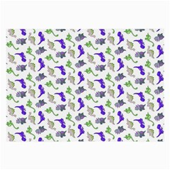 Dinosaurs pattern Large Glasses Cloth (2-Side)
