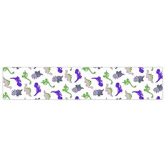 Dinosaurs pattern Flano Scarf (Small)