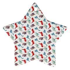 Dinosaurs pattern Ornament (Star)