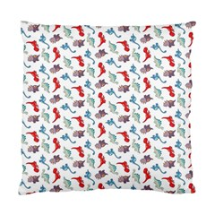 Dinosaurs pattern Standard Cushion Case (Two Sides)