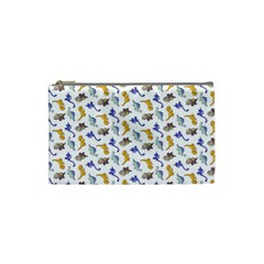 Dinosaurs pattern Cosmetic Bag (Small)