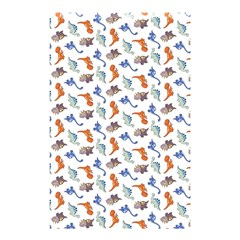 Dinosaurs pattern Shower Curtain 48  x 72  (Small)