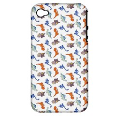 Dinosaurs pattern Apple iPhone 4/4S Hardshell Case (PC+Silicone)