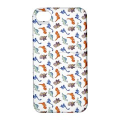 Dinosaurs pattern Apple iPhone 4/4S Hardshell Case with Stand