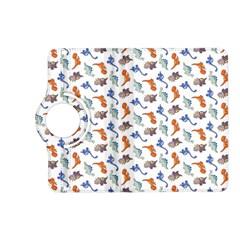 Dinosaurs pattern Kindle Fire HD (2013) Flip 360 Case