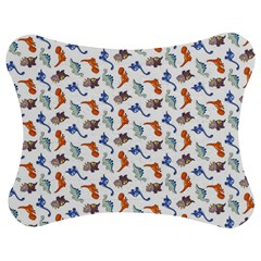 Dinosaurs pattern Jigsaw Puzzle Photo Stand (Bow)