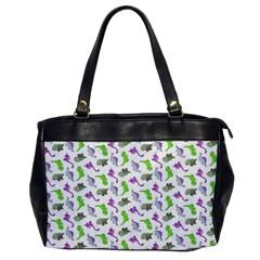 Dinosaurs pattern Office Handbags
