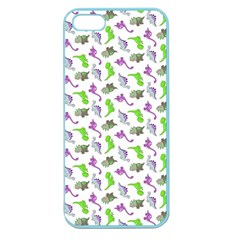 Dinosaurs pattern Apple Seamless iPhone 5 Case (Color)