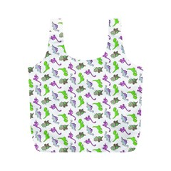 Dinosaurs pattern Full Print Recycle Bags (M)
