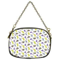 Dinosaurs pattern Chain Purses (One Side)