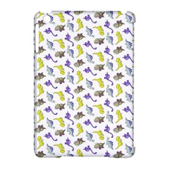 Dinosaurs Pattern Apple Ipad Mini Hardshell Case (compatible With Smart Cover)