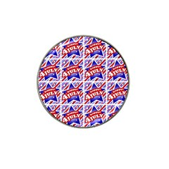 Happy 4th Of July Theme Pattern Hat Clip Ball Marker