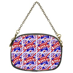 Happy 4th Of July Theme Pattern Chain Purses (Two Sides)