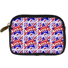 Happy 4th Of July Theme Pattern Digital Camera Cases