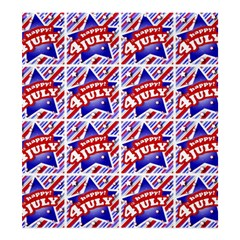 Happy 4th Of July Theme Pattern Shower Curtain 66  x 72  (Large)