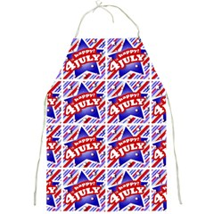 Happy 4th Of July Theme Pattern Full Print Aprons