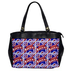 Happy 4th Of July Theme Pattern Office Handbags