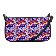 Happy 4th Of July Theme Pattern Shoulder Clutch Bags