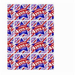 Happy 4th Of July Theme Pattern Large Garden Flag (Two Sides)