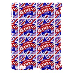 Happy 4th Of July Theme Pattern Apple iPad 3/4 Hardshell Case (Compatible with Smart Cover)
