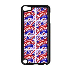Happy 4th Of July Theme Pattern Apple iPod Touch 5 Case (Black)