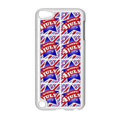 Happy 4th Of July Theme Pattern Apple iPod Touch 5 Case (White)