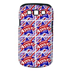 Happy 4th Of July Theme Pattern Samsung Galaxy S III Classic Hardshell Case (PC+Silicone)