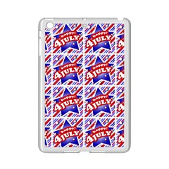 Happy 4th Of July Theme Pattern iPad Mini 2 Enamel Coated Cases
