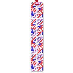 Happy 4th Of July Theme Pattern Large Book Marks