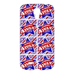 Happy 4th Of July Theme Pattern Samsung Galaxy S4 I9500/I9505 Hardshell Case
