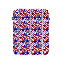 Happy 4th Of July Theme Pattern Apple iPad 2/3/4 Protective Soft Cases