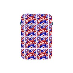 Happy 4th Of July Theme Pattern Apple iPad Mini Protective Soft Cases