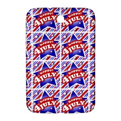 Happy 4th Of July Theme Pattern Samsung Galaxy Note 8.0 N5100 Hardshell Case