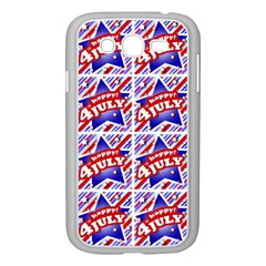 Happy 4th Of July Theme Pattern Samsung Galaxy Grand DUOS I9082 Case (White)