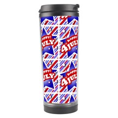 Happy 4th Of July Theme Pattern Travel Tumbler