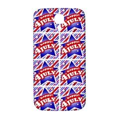 Happy 4th Of July Theme Pattern Samsung Galaxy S4 I9500/I9505  Hardshell Back Case